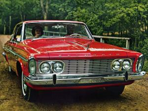 Plymouth Fury Hardtop Sedan 1963 года